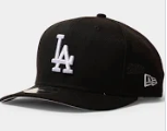 Los Angeles Dodgers 9fifty Original Fit Black Snapback New Era Baseball Cap