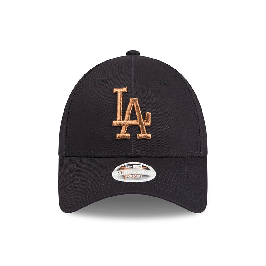 805f9769163 Los Angeles Dodgers Grey Jersey Rose Gold Women s 9forty Adjustable Cap New  Era