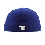 Los Angeles Dodgers New Era Blue Fitted Cap