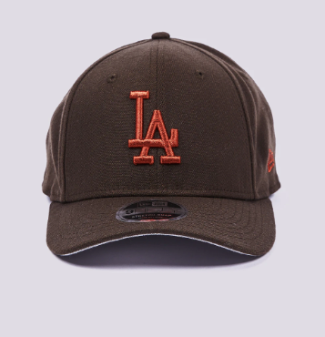 Los Angeles Dodgers New Era Burnt Orange 9Fifty Stretch-Snap Cap