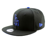 Los Angeles Dodgers New Era Youth 9FIFTY Black Snapback Cap'