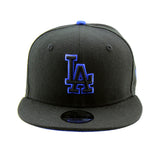 Los Angeles Dodgers New Era Youth 9FIFTY Black Snapback CapLos Angeles Dodgers New Era Youth 9FIFTY Black Snapback Cap