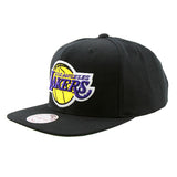 Los Angeles Lakers Black Snapback Mitchell & Ness NBA Cap