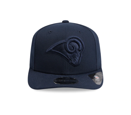 Los Angeles Rams Oceanside New Era Snapback 9fifty Original Fit Cap Blue on Blue Baseball cap shop NFL