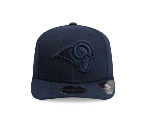 Los Angeles Rams Oceanside New Era Snapback 9fifty Original Fit Cap Blue on Blue