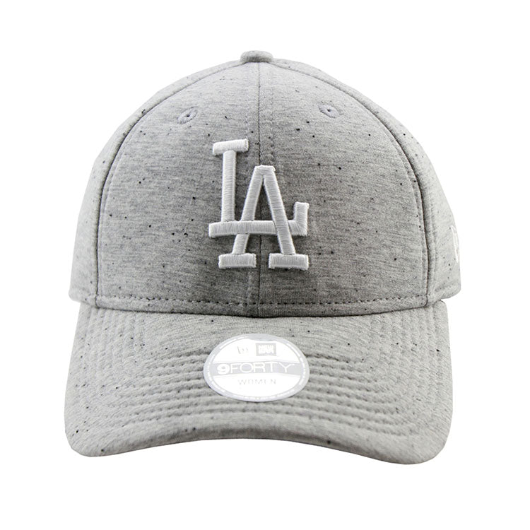 Los Angeles Dodgers Heather Grey Neo 9forty Adjustable Cap Women