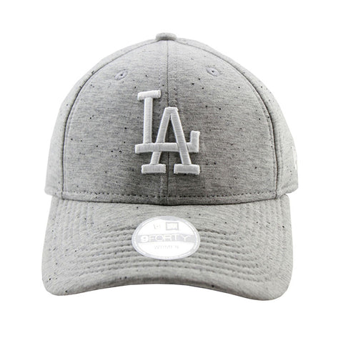 Los Angeles Dodgers Heather Grey Neo 9forty Adjustable Cap Women's