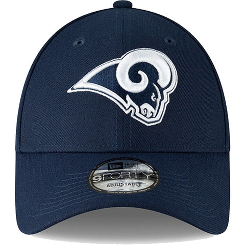 Los Angeles Rams Navy 9forty Adjustable Snapback New Era Cap