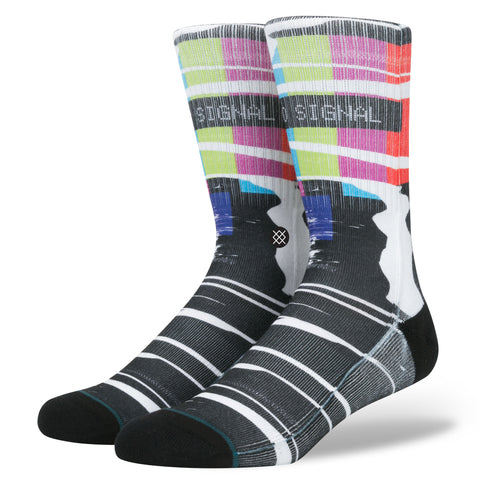 Fashion Stance Socks: No Signal SBS Tv Style