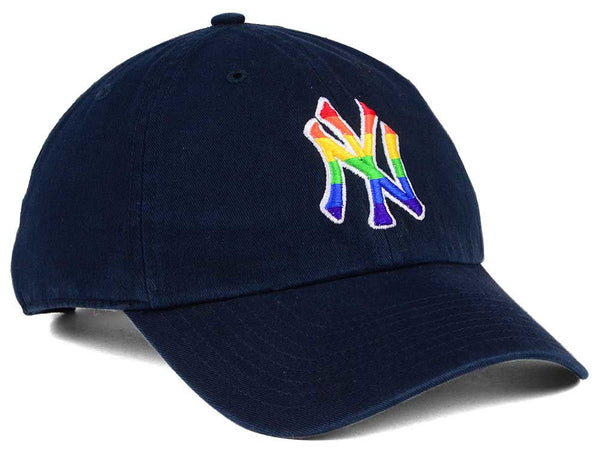 23633446037b4 ... New York Yankees Pride  47 Brand Navy Clean up Strapback Adjustable Cap
