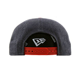 New England Patriots Heather Navy Red Action New Era Snapback Cap