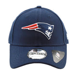 New England Patriots Navy 9forty Adjustable Snapback New Era Cap