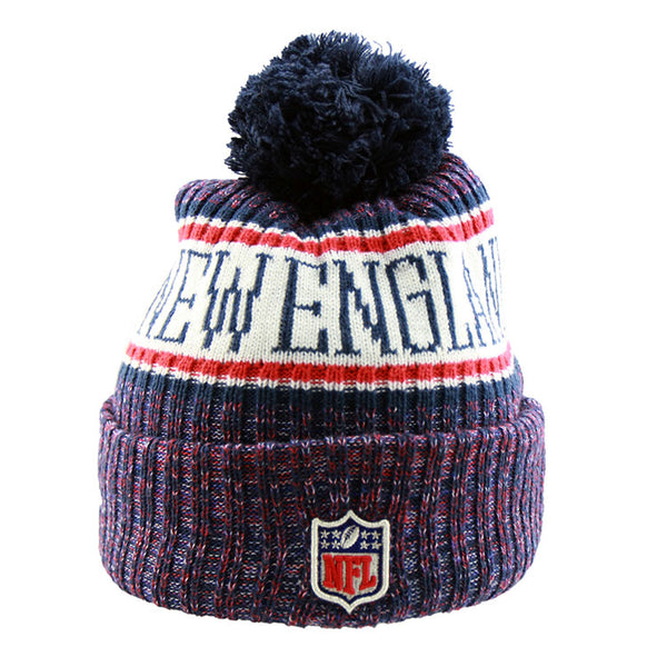 detailed pictures f7718 f2085 New England Patriots New Era NFL On Field Knit Cuffed Beanie – Lidzcaps