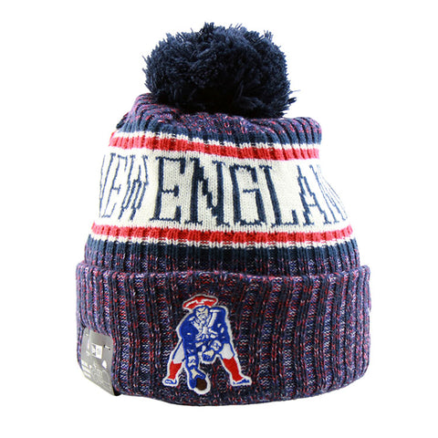 New England Patriots New Era NFL On Field Knit Cuffed Beanie