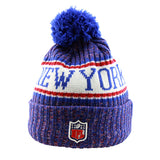 New York Giants New Era NFL On Field Knit Cuffed Beanie