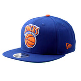 New York Knicks NBA New Era Blue Orange Snapback Cap