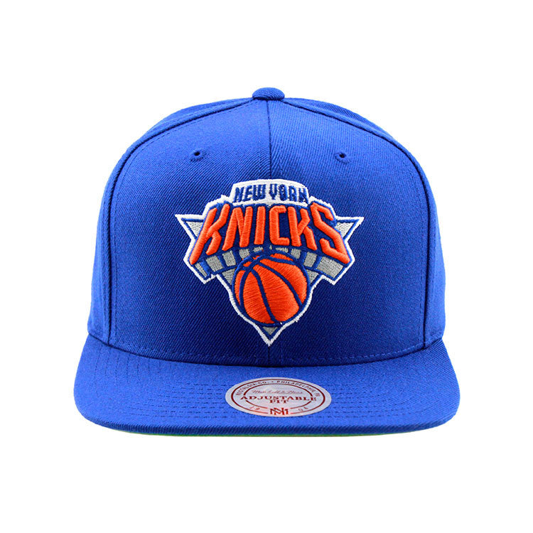 New York Knicks Blue Snapback Mitchell & Ness NBA Cap