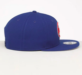New York Mets Round Logo New Era Blue Snapback 9fifty Cap