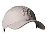 New York Yankees 9Twenty Grey Graphite New Era Strapback Cap