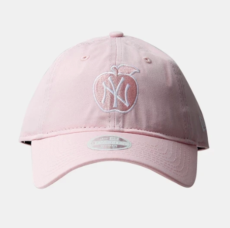 New York Yankees 9Twenty New Era Adjustable Apple Light Pink Cap Women