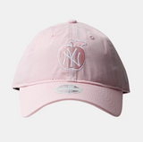 New York Yankees 9Twenty New Era Adjustable Apple Light Pink Cap Women's