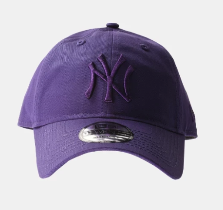 New York Yankees 9Twenty Purple New Era Strapback Cap