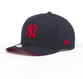 Sydney Swans New Era Black on Black 9Fifty Stretch-Snap Cap