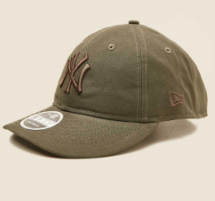 New York Yankees 9fifty Retro Crown Khaki Olive Snapback New Era Baseball Cap