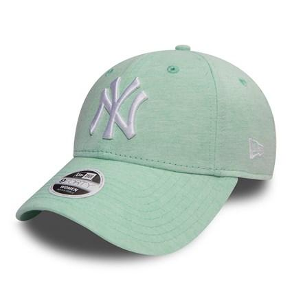 New York Yankees New Era Jersey Minty Green 9forty Adjustable Cap Women