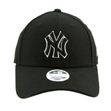 New York Yankees Black 9forty Adjustable Cap Women's