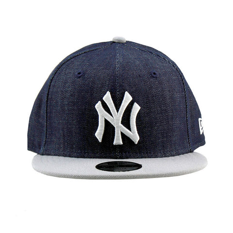 New York Yankees Denim Grey Snapback Cap New Era
