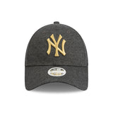 New York Yankees Dodgers Grey Jersey Speck Metallic Gold Women's 9forty Adjustable Cap lidz caps australia side