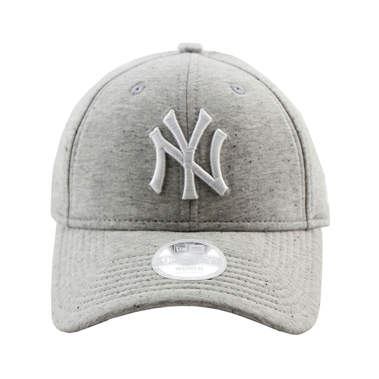 New York Yankees Heather Grey Neo 9forty Adjustable Cap Women