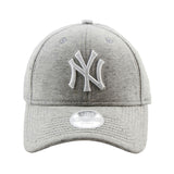 New York Yankees Heather Grey Neo 9forty Adjustable Cap Women's