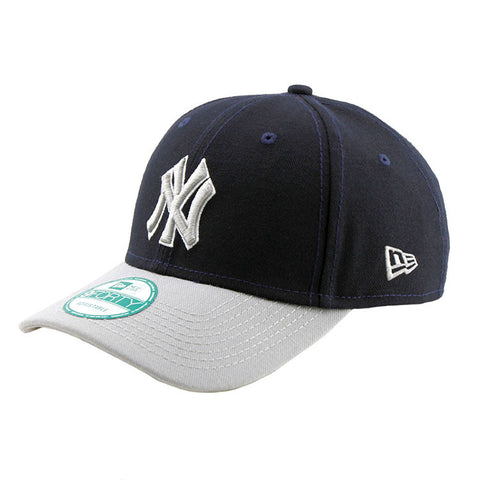 New York Yankees League 9forty Adjustable Heather Grey Cap New Era