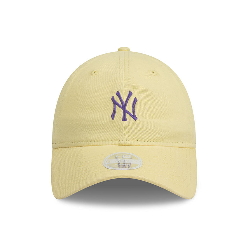 New York Yankees Lemon Purple 9Twenty New Era Adjustable Cap Women