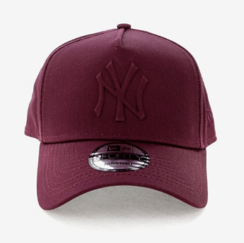 New York Yankees Maroon Women's 9forty Adjustable Cap New Era
