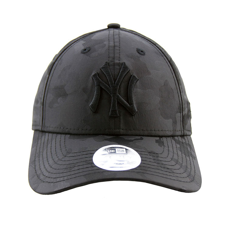 c0f935789dc ... discount code for new york yankees new era black on black camo 9forty  adjustable cap womens