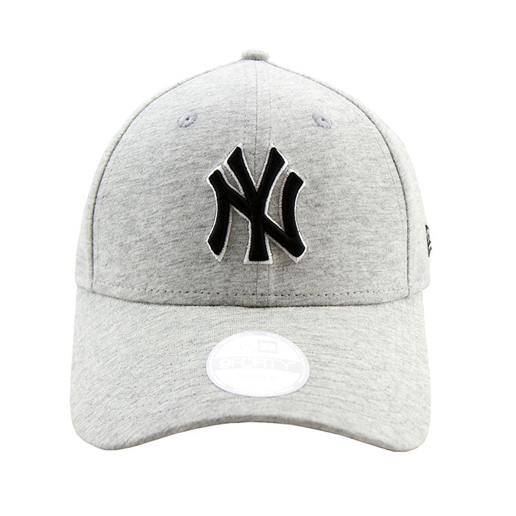 a730d5229b006 New York Yankees New Era Grey Jersey 9forty Adjustable Cap Women s ...