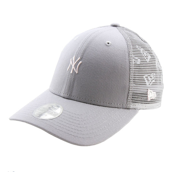 0ca148adec0c9 ... Adjustable Cap  New York Yankees New Era Grey Tiny Logo Trucker Women s 9forty  Adjustable ...