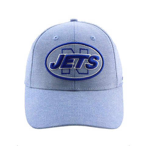 Newtown Jets - Sydney Local Pre Curved Strapback Chambray Denim Blue Cap