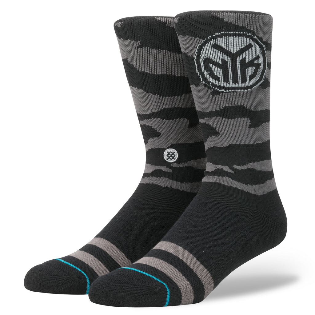 New York Knicks Stance Socks Nightfall Black Grey
