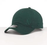 Oakland Athletics 9Twenty Dark Green on Green New Era Strapback Cap