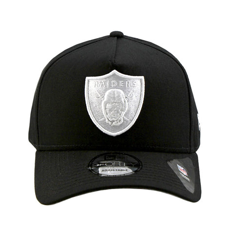 Oakland Raiders A-Frame Black 9forty Adjustable Cap
