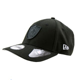 Oakland Raiders Black on Black Youth Stealth Pop 9forty Adjustable Cap