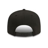Oakland Raiders New Era Black 9Fifty Stretch-Snap Cap Lidz Caps Australia Back