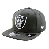 Oakland Raiders New Era Shadow Tech Black Snapback 9fifty Original Fit Cap