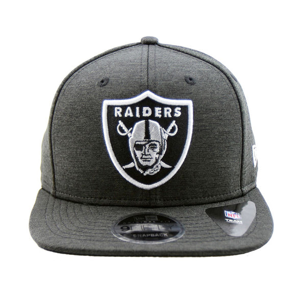 63ef7d59 Oakland Raiders New Era Shadow Tech Black Snapback 9fifty Original Fit Cap
