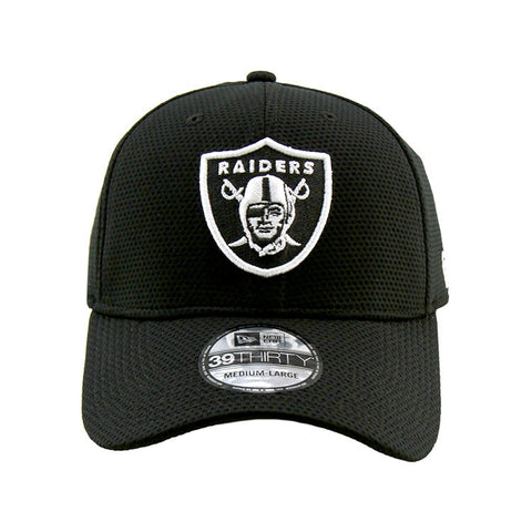 Oakland Raiders Performance Black 3930 New Era DE Cap
