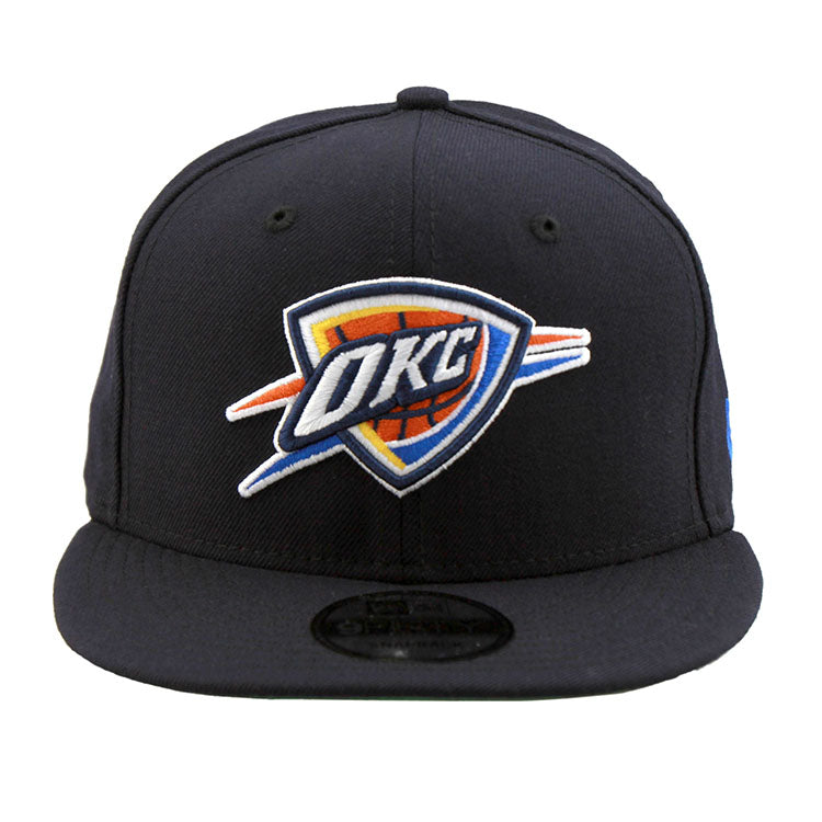 Oklahoma Thunder NBA New Era Navy Snapback Cap